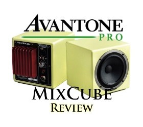 Avantone active Mixcube monitors