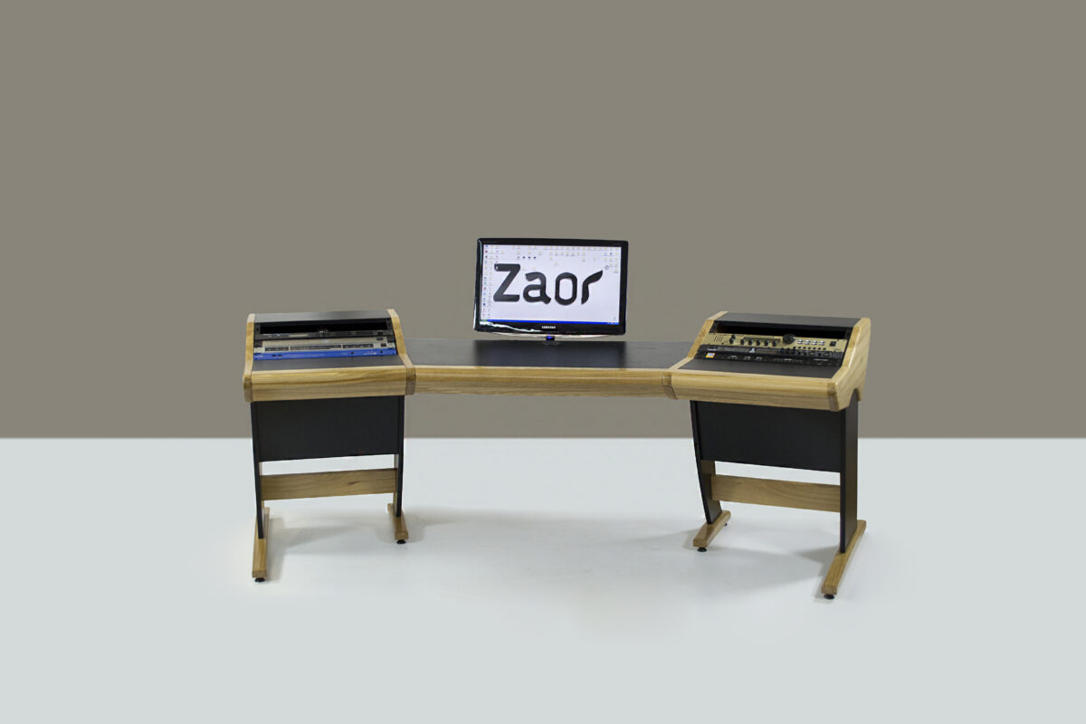 If You Looking For Cool Studio Furniture Check Out The Zaor Onda Media Workstation Zoar S Looks But Its A Little Pricey