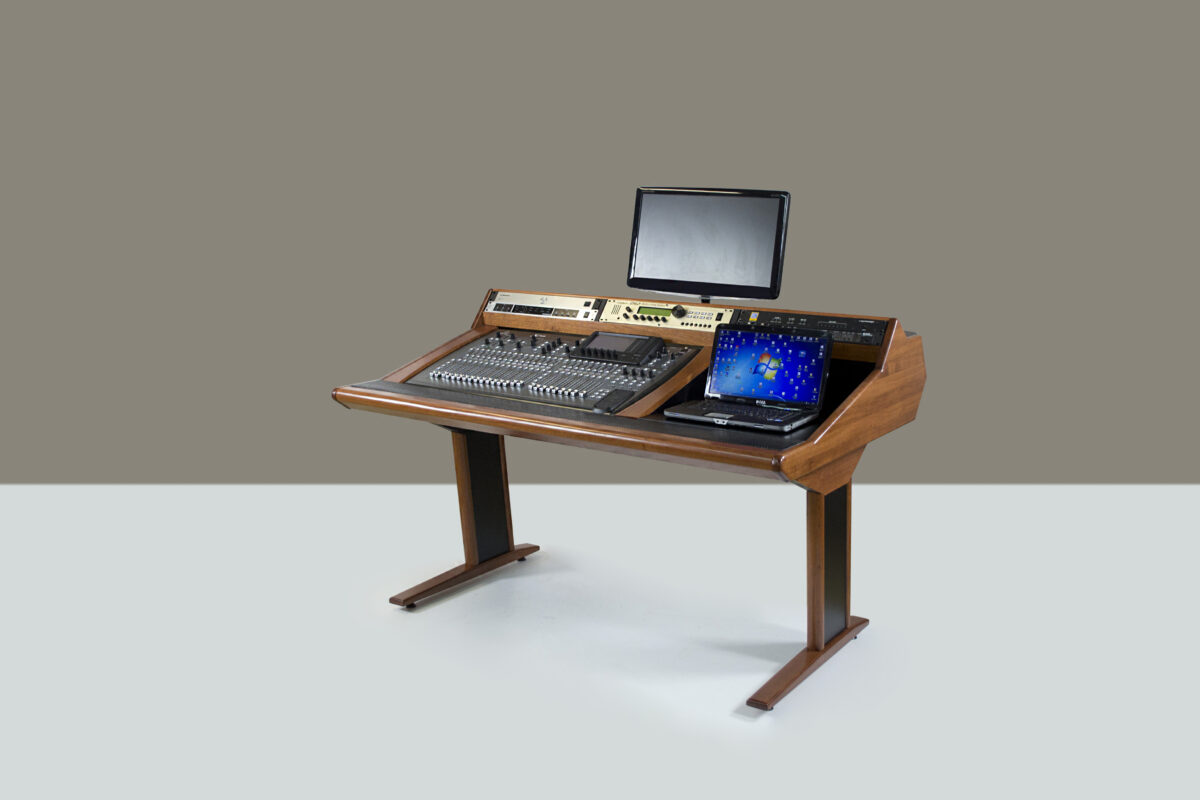 Zaor Has Just Announced Their New Media Workstation Called Marea The Is A Cool Looking Desk That Will Help Your Studio Look More Professional