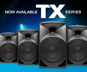 Alto Professional TX Series Speakers