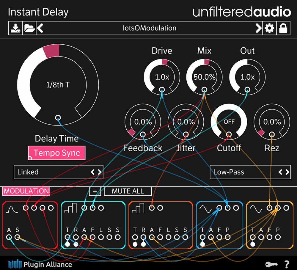 instant delay