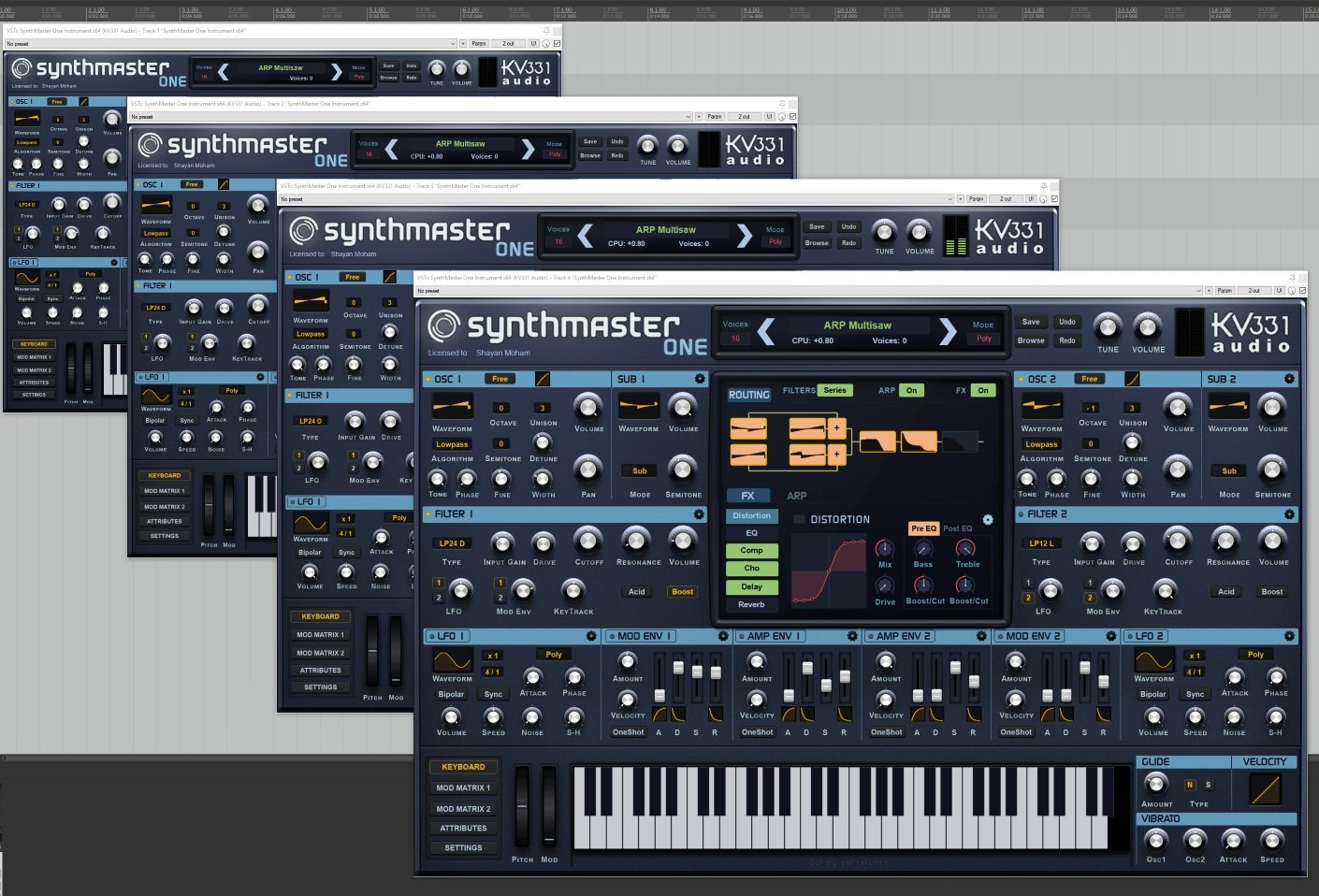SynthMaster One Update