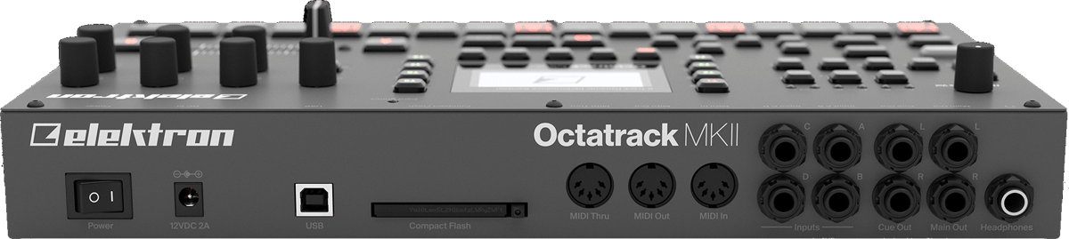 Octatrack MKII Back