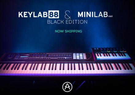 MINILAB mkII KEYLAB 88 Black