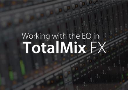 TotalMix FX