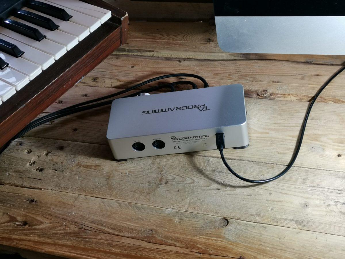Studio MIDI And CV Interface