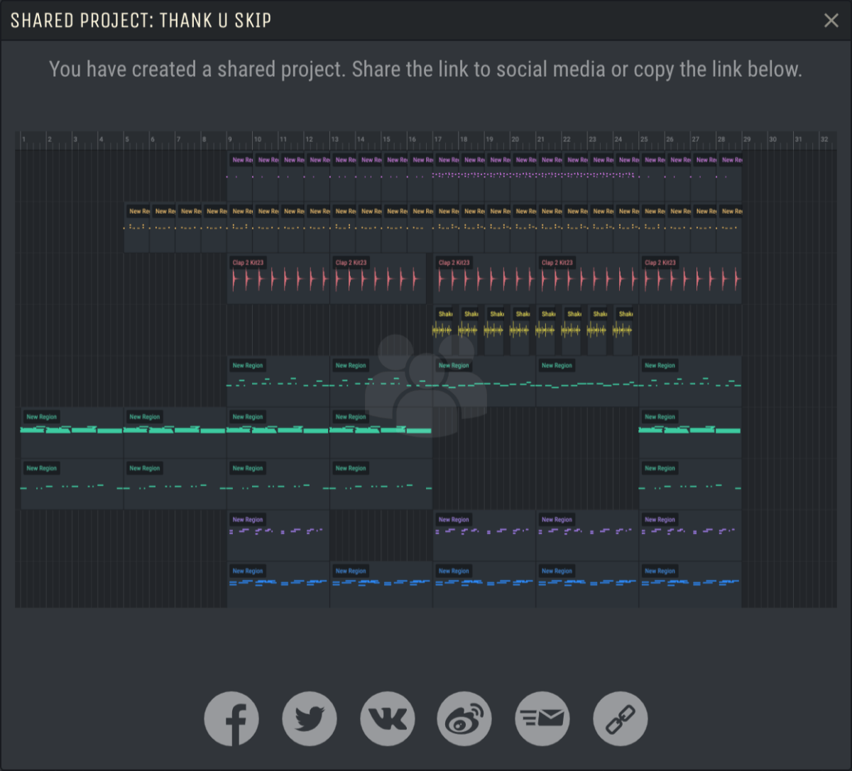 Amped Studio share_project