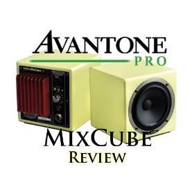 Avantone active Mixcube monitors