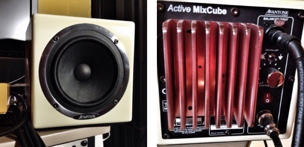 Avantone active mixcubes monitors