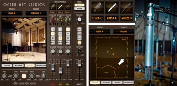 UAD ocean way studios plugin