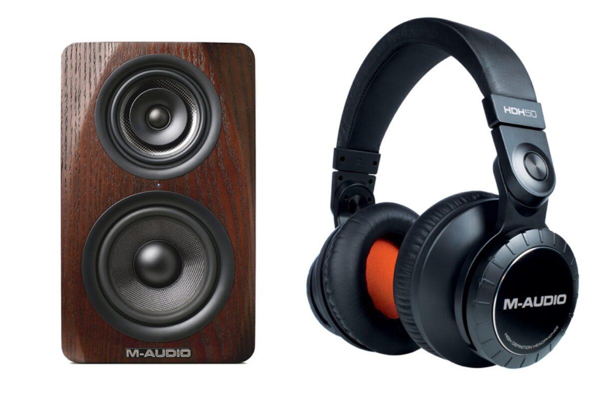 M-Audio M3-6 & HDH50