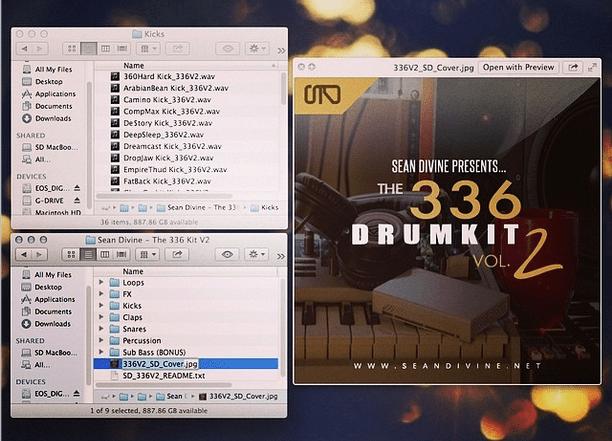 sean divine 336 drum kit vol 2