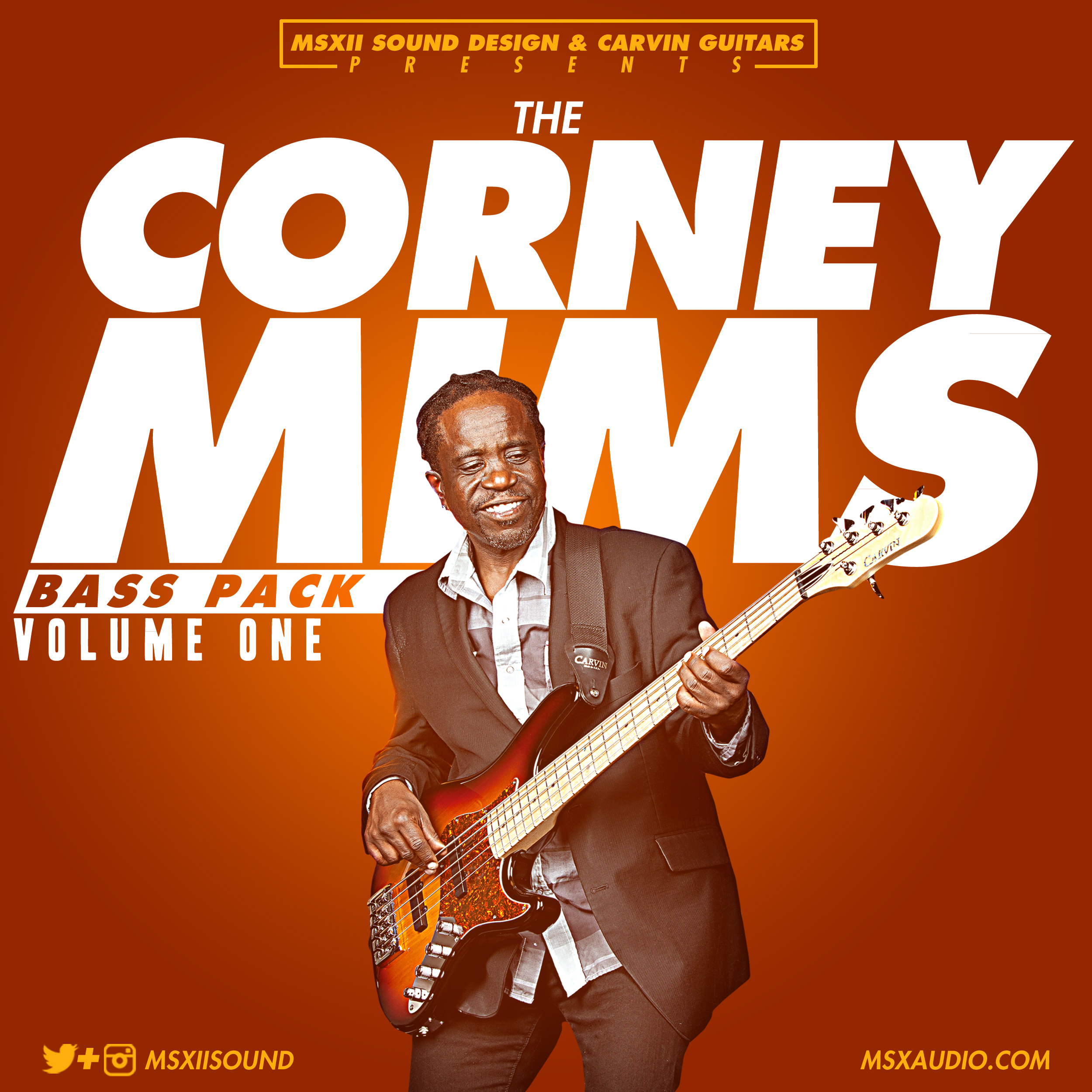 MSXII-Corney Mims Bass Pack