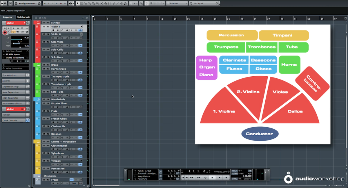 orchestral library toolbox