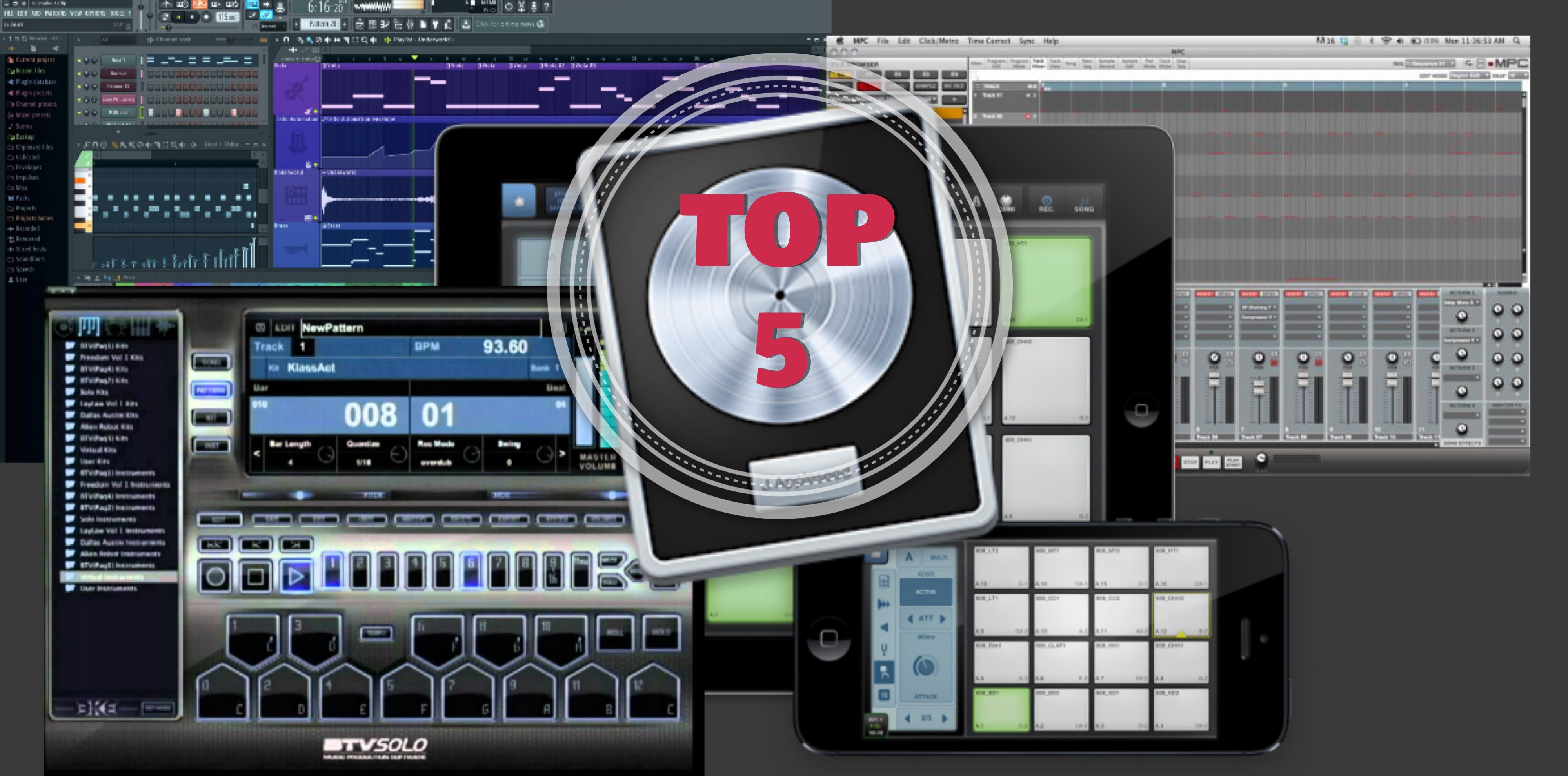 Top 5 Beatmaking Tools