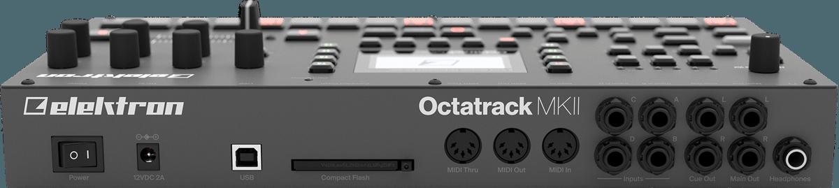 Octatrack MKII Back