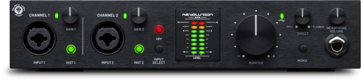 Black Lion Audio - Revolution 2x2 - Front